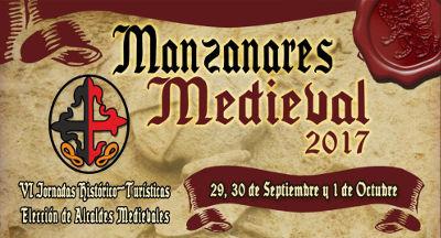 Imagen cartel IV Jornadas Manzanares medieval
