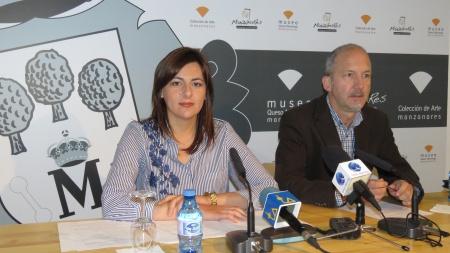 Isabel Díaz-Benito y Agustín Alonso en la presentación del Programa de Ayudas