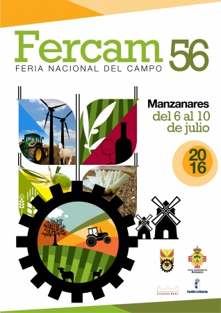 Cartel anunciador de la pasada edición de FERCAM