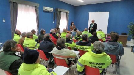 Reunión con beneficiarios del programa Garantía +55