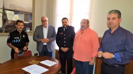 Toma posesión nuevo Policía Local en Manzanares