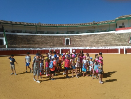 """Participantes de la Escuela de Verano del AMPA """"Altagracia"""""""