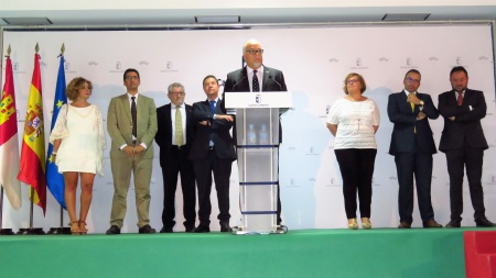 Intervención de Julián Nieva en el acto inaugural
