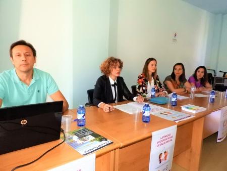 Beatriz Labián, concejala de servicios sociales en la presentación de las I Jornadas Socio Sanitarias de Salud Mental