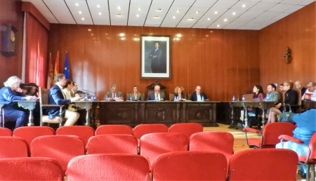 Sesión plenaria de enero en el Ayuntamiento de Manzanares