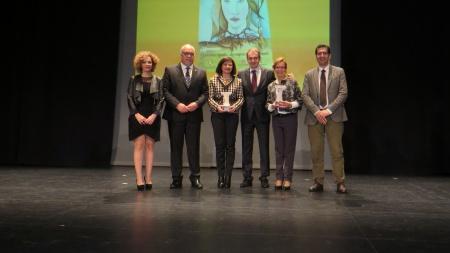 González-Calero y Quintanilla junto a Zapatero y a las autoridades