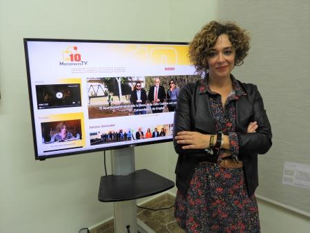 Beatriz Labián presenta el nuevo portal Manzananares10TV