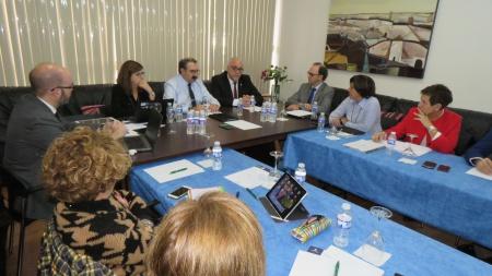 Reunión del consejo de Sanidad de Castilla-La Mancha en Manzanares