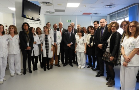 El presidente Emiliano García Page visita el hospital Virgen de Altagracia de Manzanares