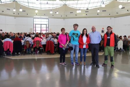 Ruta senderista de mayores por Manzanares