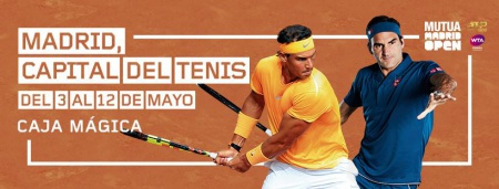 Cartel del Madrid Open Mutua 2019