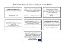 Prestaciones Técnicas de Servicios Sociales de Atención Primaria
