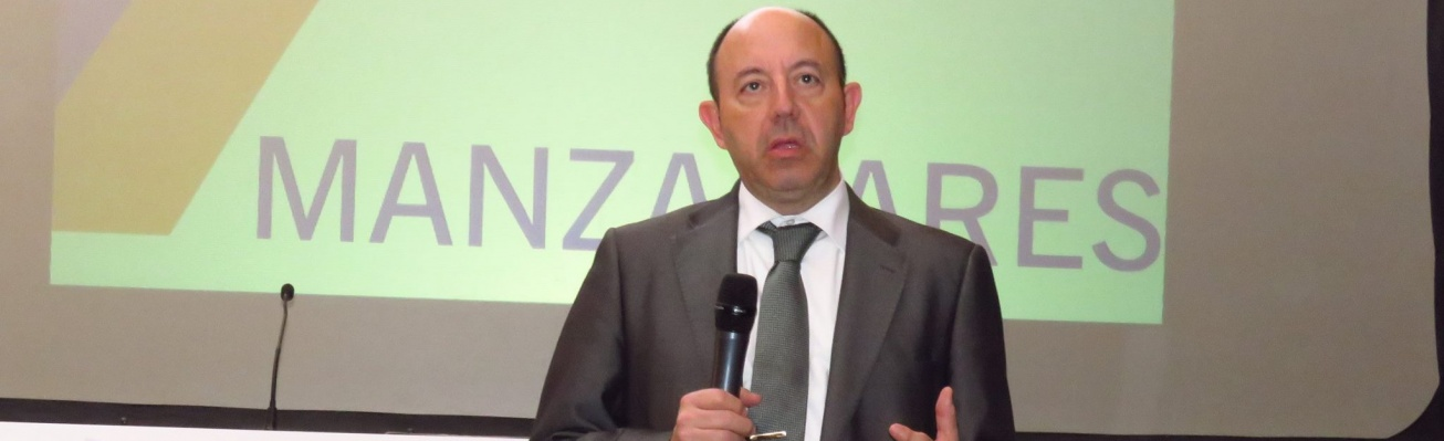 Gonzalo Bernardos durante su intervención