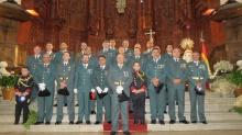 Guardia Civil de Manzanares en la celebración del Día del Pilar