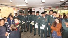 Miembros de la Guardia Civil que han sido condecorados