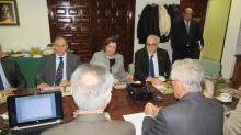 Reunión de trabajo e informativa en EFA Moratalaz Manzanares