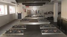 Cocina donde se impartirá el curso