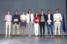 Reconocimientos oro de la Gala del Deporte. Foto: Manzanares en Imágenes