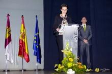 Esther Nieto-Márquez durante su intervención