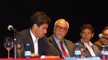 Rubén Pinar durante su intervención