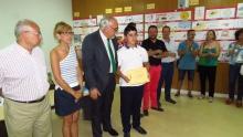 Javier Bellón, ganador del primer premio
