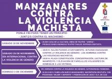 Programa de actos del 25N
