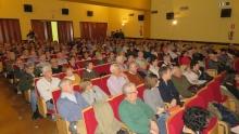 El público llenó la Casa de Cultura