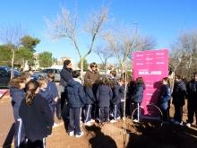 Díaz-Benito ha recordado a los niños que son los padrinos de este árbol