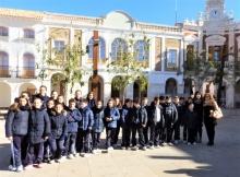 Foto de familia del grupo del colegio San José