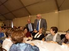 El alcalde compartió charla con los asistentes