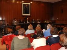 Acto de reconocimiento a Mari Carmen López y Carmen Aldavero
