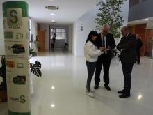 Punto de información en el Centro de Salud Manzanares I