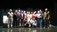 Participantes de la obra de teatro