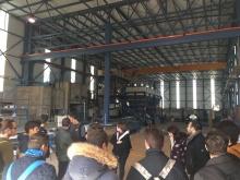 Los alumnos y alumnas visitan las instalaciones