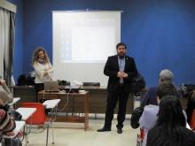 El concejal de Personal y Empleo Pablo Camacho da la bienvenida a los participantes