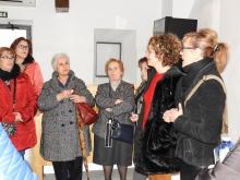 Silvia Cebrián y Beatriz Labián han acompañado a las mujeres durante su visita