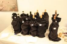 Los vinos estuvieron ocultos hasta el final de la sesión