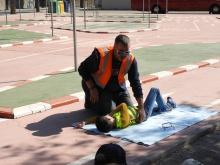 El voluntariado de Protección Civil de Manzanares se encarga de enseñarles primeros auxilios