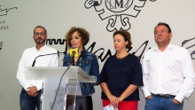 Beatriz Labián, durante la presentación