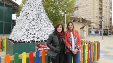 Las concejalas Gemma de la Fuente e Isabel Díaz-Benito asistieron a la clausura del programa