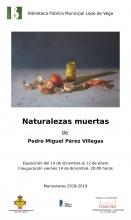 Inauguración de la exposición 'Naturalezas muertas'