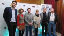 Autoridades presentes en la clausura del festival de cine ManzanaREC