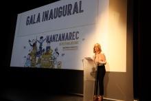 Marina Moreno presentó la gala