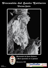 Cartel de la procesión del Santo Entierro (Viernes Santo)
