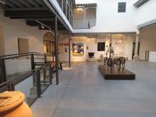 Patio del Museo del Queso Manchego