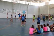 Escuela de verano de balonmano