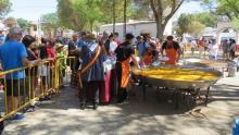 La paella popular se celebrará el domingo en el recinto de Fercam