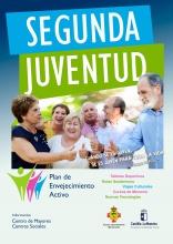 Cartel anunciador de Segunda Juventud