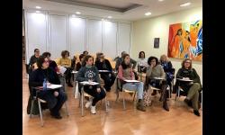 Asistentes al taller de empoderamiento, liderazgo y género