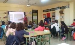 Sesión con alumnado de 5º de Primaria en uno de los colegios participantes